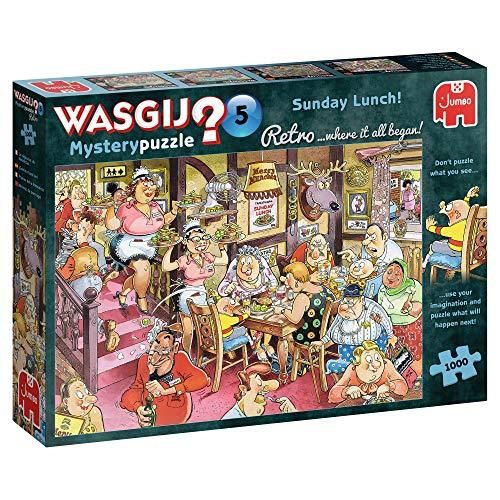 Jumbo Wasgij Retro 5 Sunday Lunch 1000 Piece Jigsaw Puzzle