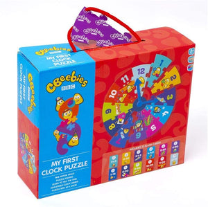CBeebies Giant My First Clock Floor Puzzle