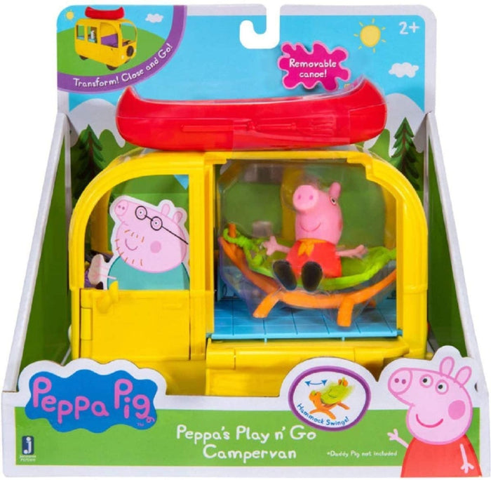 Peppa Pig Peppa's Play N Go Campervan With Figure Playset