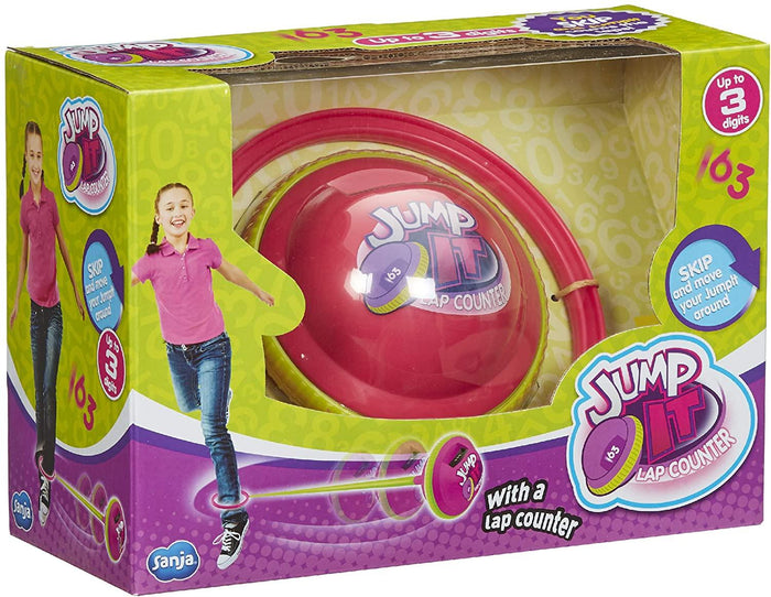 Jump it Pink Skipping Fitness Coordination Toy With Counter