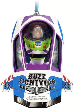 Disney Toy Story Buzz Lightyear Talking Hanging Ornament