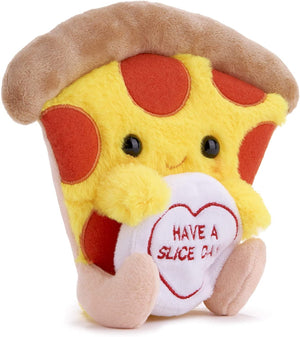 Posh Paws SWIZZELS Love Hearts 18CM (7?) Patrick The Pizza Soft Plush Toy