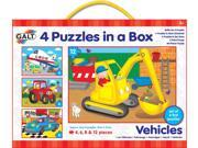 Galt 4 Puzzles In A Box Vehicles Jigsaw Puzzle