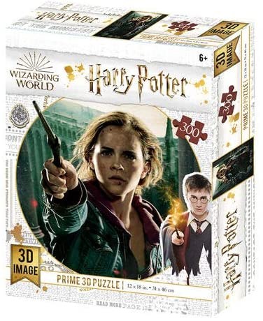 Harry Potter Hermione Granger 300 Piece 3D-Look jigsaw puzzle  (HP33008)