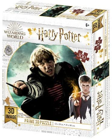 Harry Potter Ron Weasley 300 Piece 3D-Look jigsaw puzzle (kc) (HP33010)