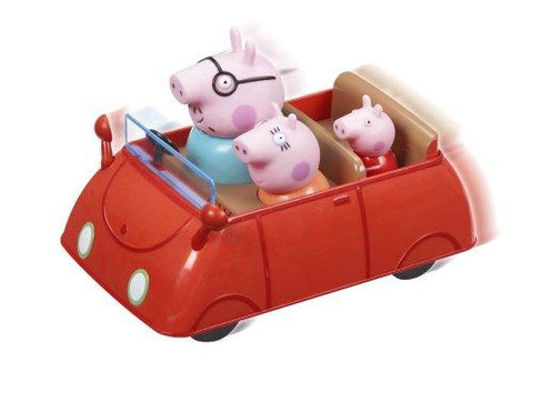 Peppa Pig Vehicle Push & Go Car