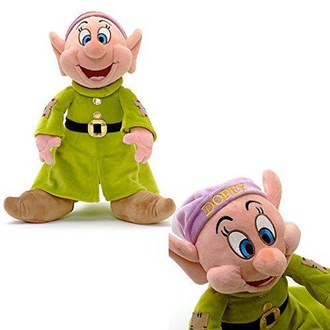 Official Disney Snow White & The Seven Dwarfs 31cm Dopey Soft Plush Toy