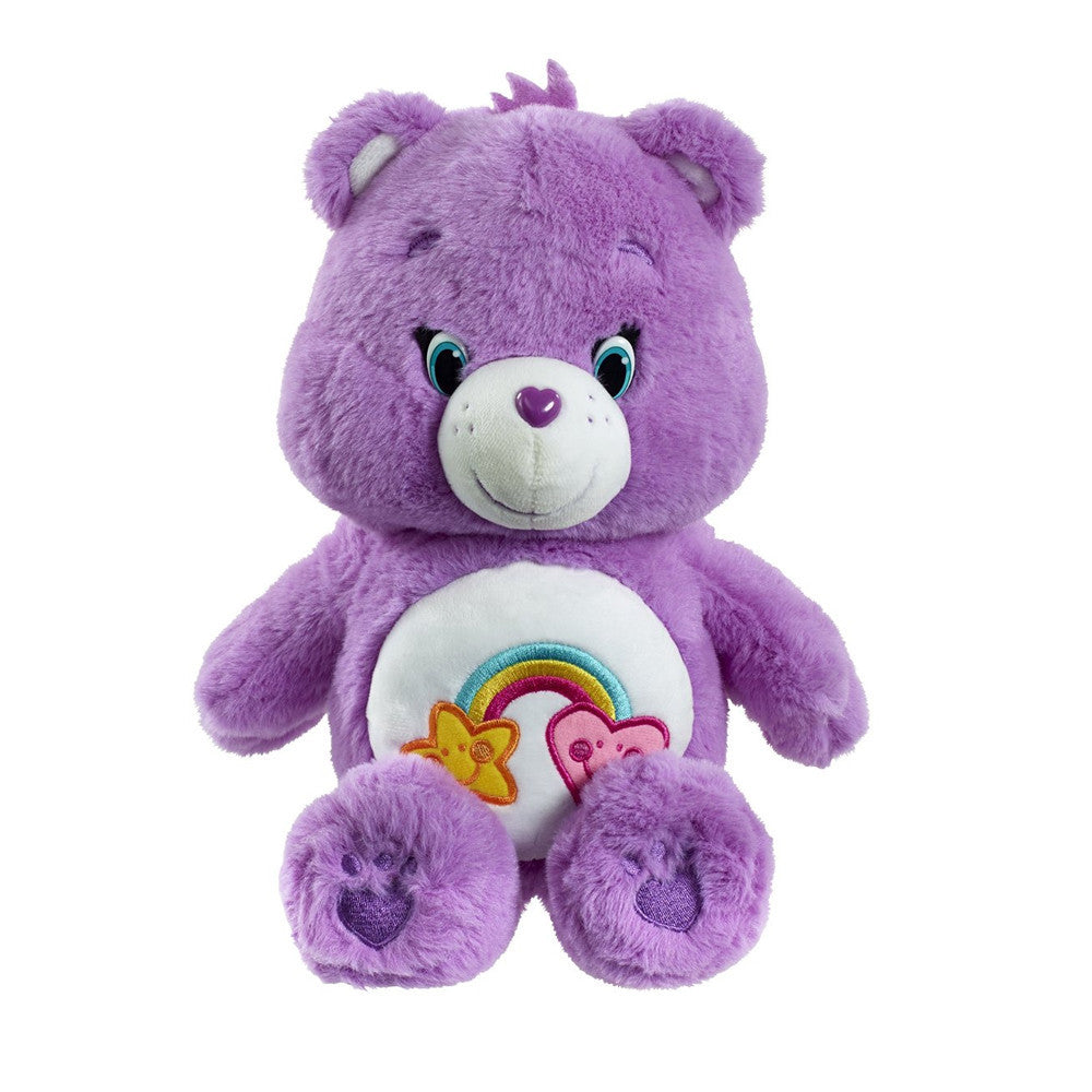 Care Bears Medium Best Friend Bear Soft Plush Toy With Dvd