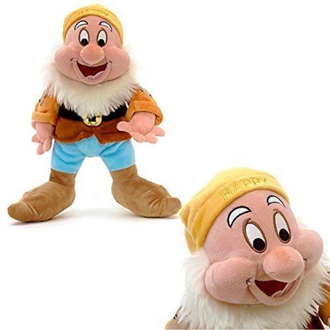 Official Disney Snow White & The Seven Dwarfs 28cm Happy Soft Plush Toy