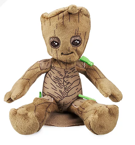 Official Disney Guardians of the Galaxy - Groot Shoulder 10cm Soft Plush Toy