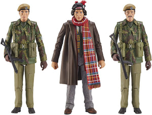 Doctor Who U.N.I.T. 1975 Terror Of The Zygons Collector Figure Set