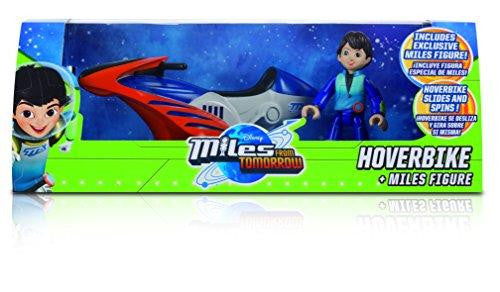 Disney Miles From Tomorrow Hoverbike With Miles Figure