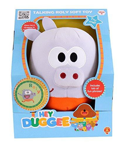 Hey Duggee Talking Squirrel Roly Soft Plush Toy