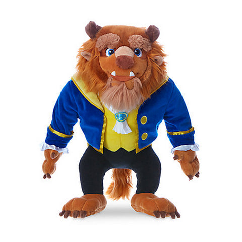 Official Disney Beauty & The Beast 43cm Beast Soft Plush Toy