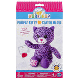 Build A Bear Workshop Purple Kitty  Refill Pack