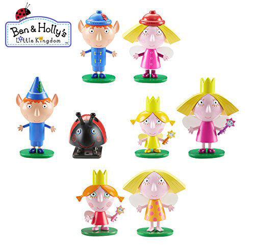 Ben & Holly Pack of 8 Figures Pack B