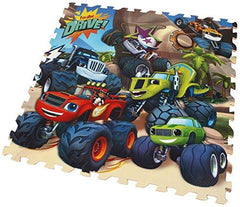 Blaze & The Monster Machines 9 Piece Giant Foam Floor Jigsaw Puzzle