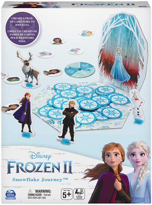 Disney Frozen 2 Snowflake Journey Game - English Version