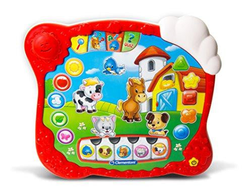 Clementoni The Nursery Rhyme Farm Pad Learning Toy