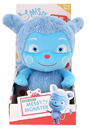 Messy Goes To Okido 24cm Talking Large Messy Monster Soft Plush Toy