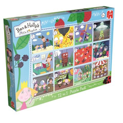 Ben & Holly's Little Kingdom 12 In 1 Jigsaw Puzzle Pack