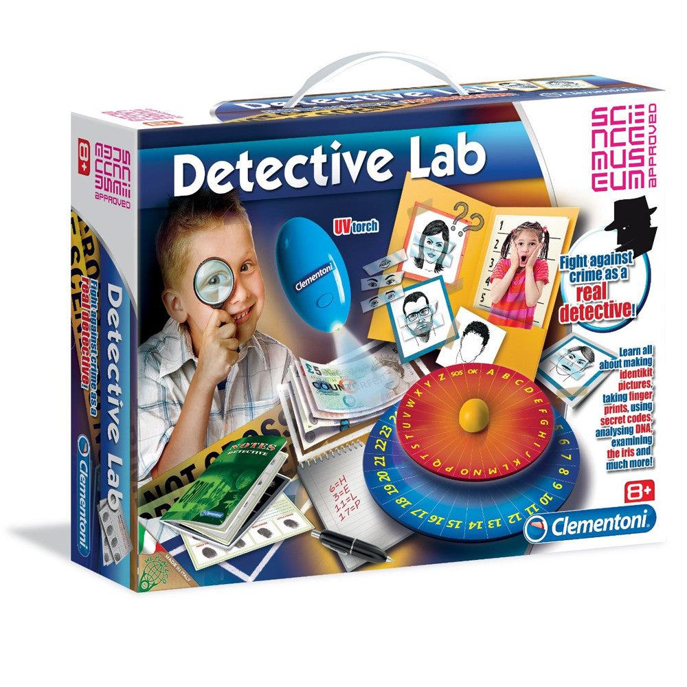 Clementoni Science Museum Detective Lab Playset 61248