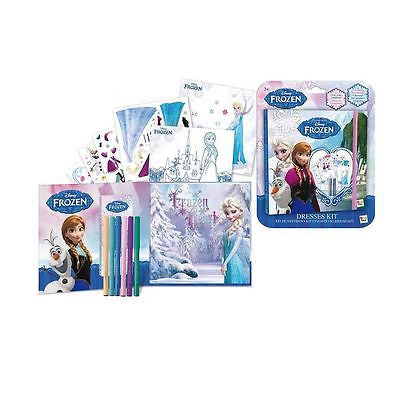 Disney Frozen Dresses Kit Book