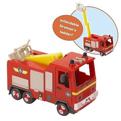 Fireman Sam Vehicle Jupiter Fire Engine