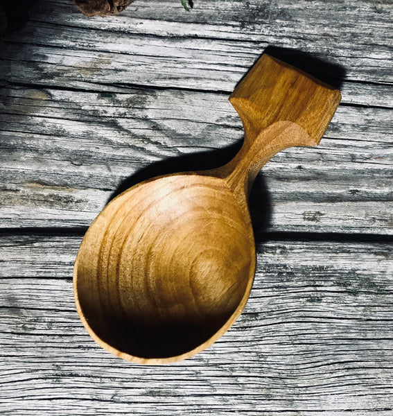 Cherry Wood Coffee Scoop OP253