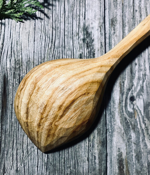 Cherry Wood Pot Scraper Spoon OP258