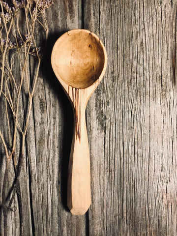 Spalted Birch Scoop OP271