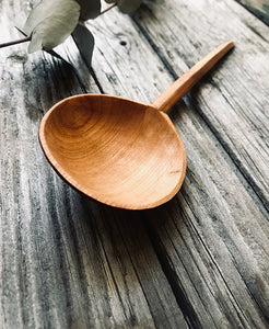 Cherry Wood Eating Spoon OP227
