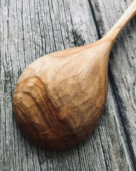 Ash Wood Cooking Spoon OP217