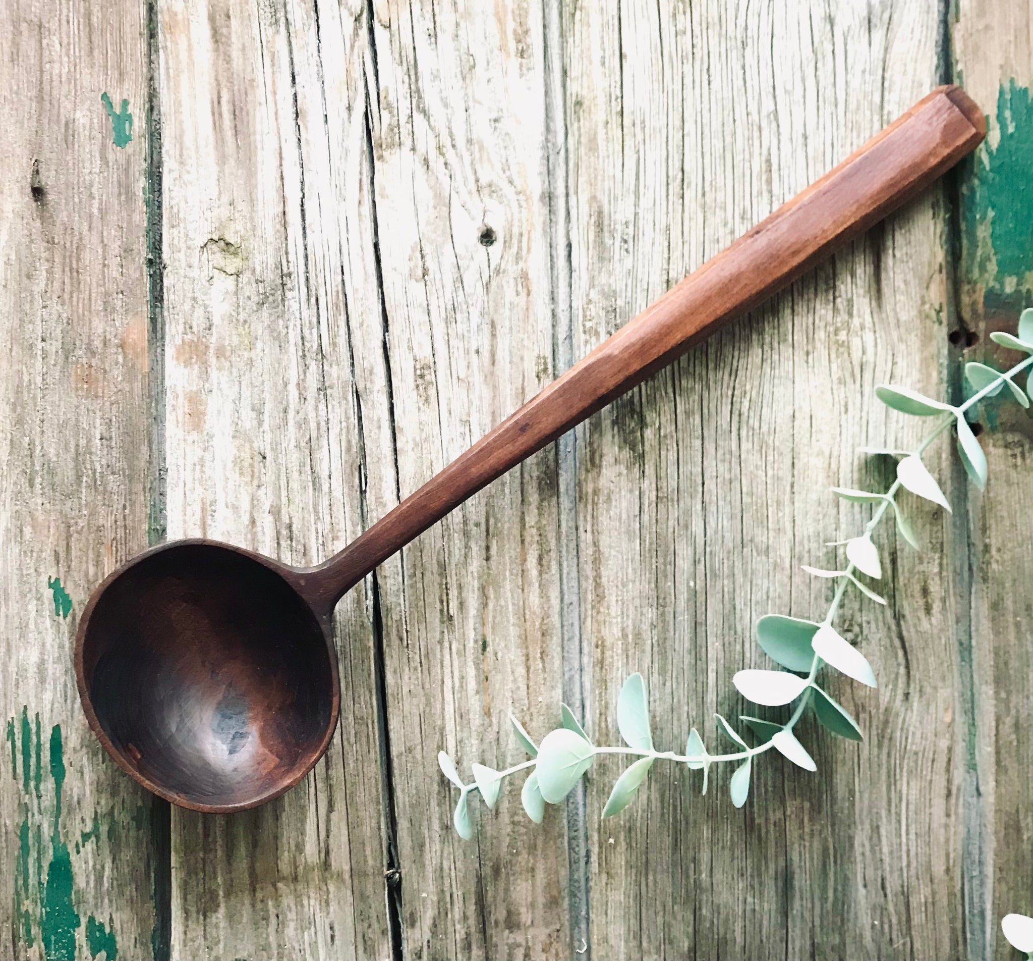 Ebonised Cherry Serving Spoon OP346