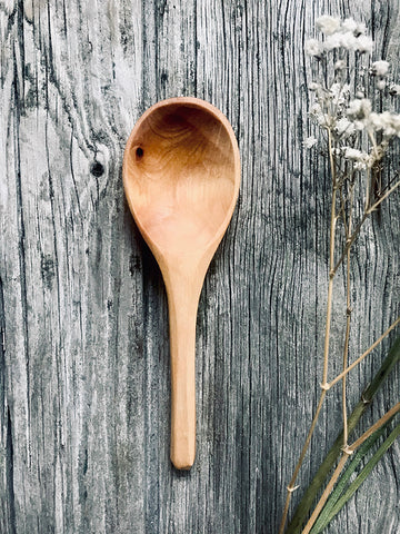 Silver Birch Wood Coffee Scoop OP191