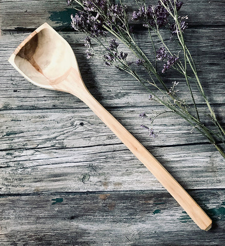 Willow Wood Wok Spoon OP173