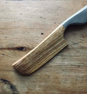 Large Cherry Wood Spreader with Painted Handle OP108