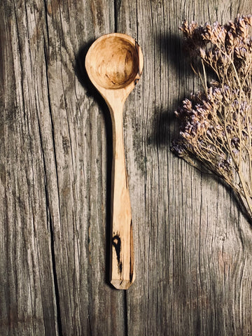 Spalted Birch Scoop OP268