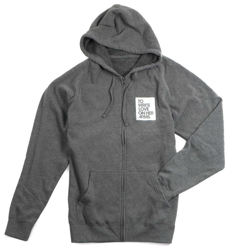 Hope Is Defiant Zip Hoodie