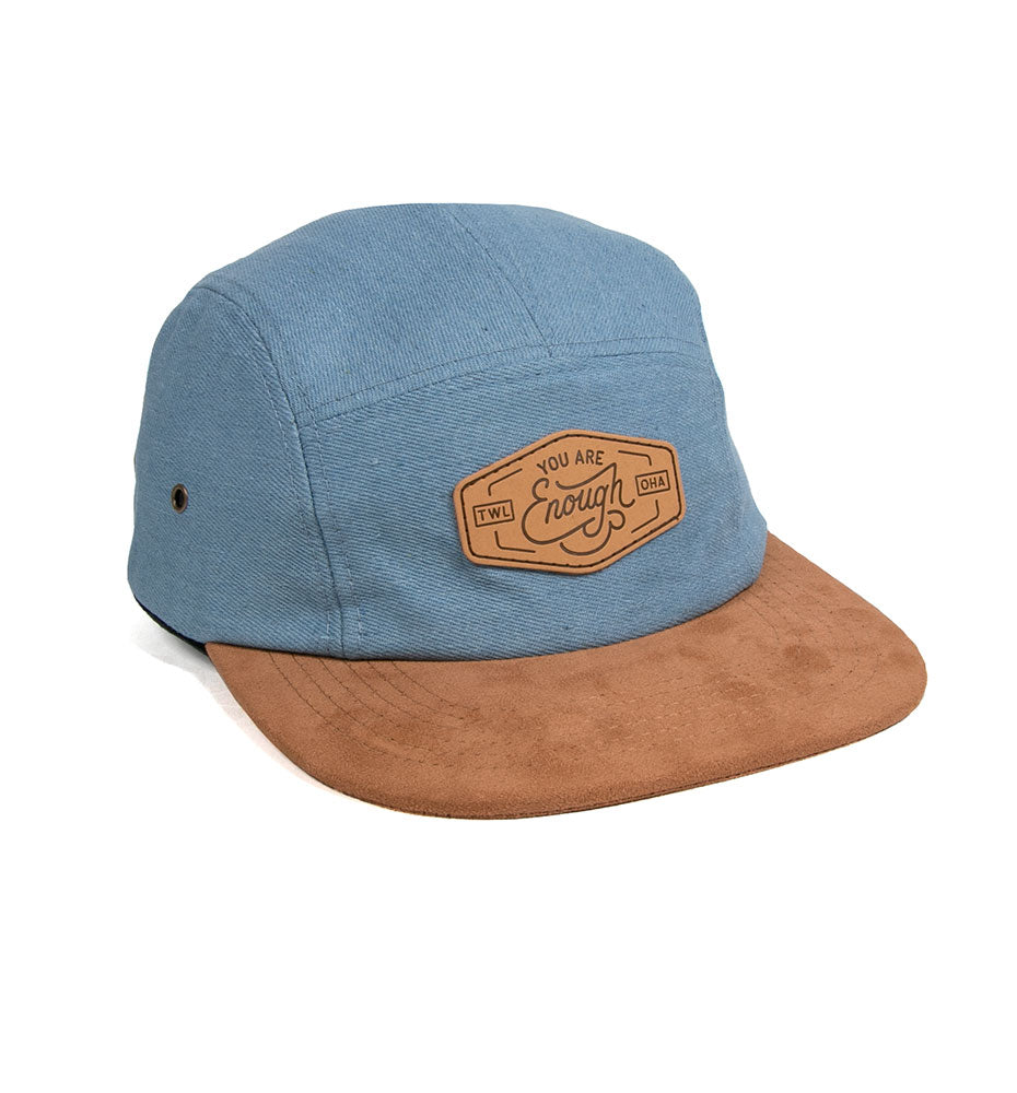 Enough 5-Panel Denim Cap