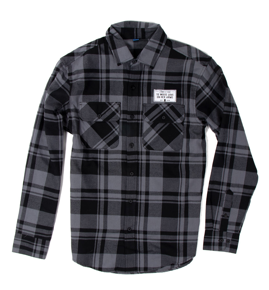 Perspective Flannel Shirt