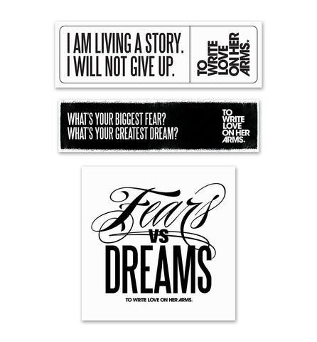 Fears vs Dreams Sticker Pack