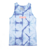 Geometric Hope Tie-Dye Tank