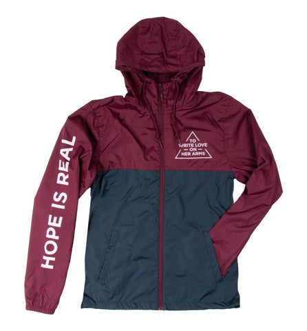 Hope Is Real Windbreaker Jacket