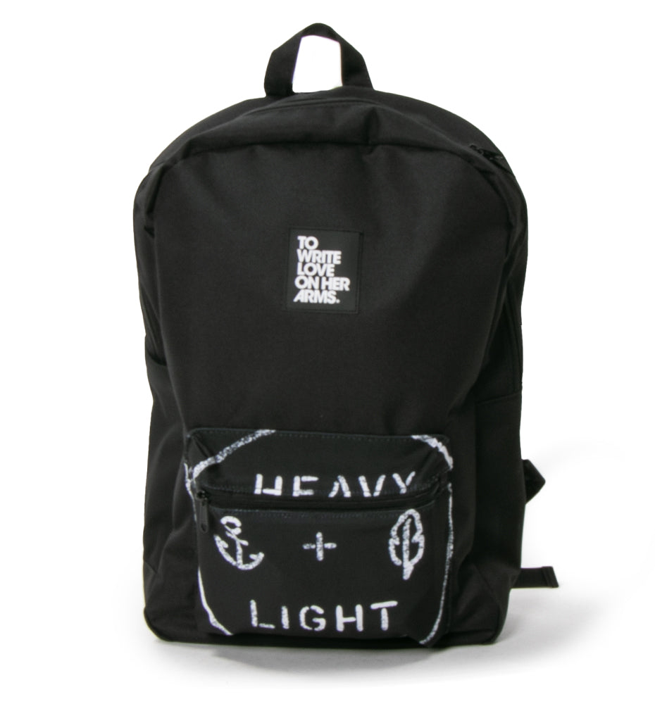 Heavy and Light Backpack