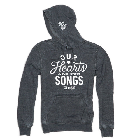 Hearts Lightweight Pullover Hoodie