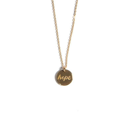 Hope Dot Necklace
