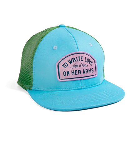 Hope Is Real Patch Trucker Hat