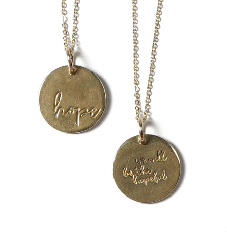 Hope Circle Necklace