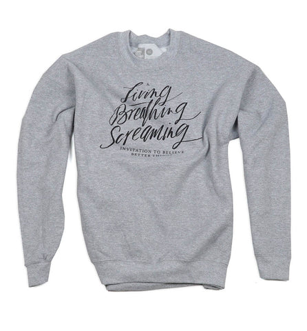 Invitation Throwback Sweatshirt